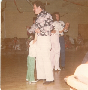 Dad and Stef (dancing)